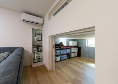 アイ工務店の注文住宅「縦の空間を有効活用し多くの部屋を設置」
