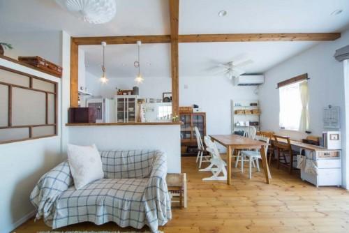 アトリエ・クラッセの注文住宅「温かみがありつつもかっこいいアクセントをもつ」