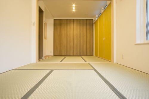 畳に合うように室内をコーディネート