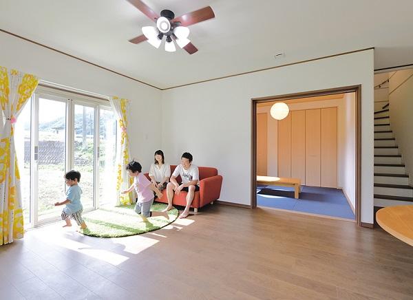 クレバリーホームの注文住宅「家族が成長したときのことを考えたゆったり空間」