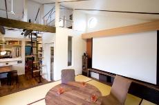 キッチン・ダイニングデザインが目を引く京都の注文住宅2