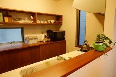 キッチン・ダイニングデザインが目を引く京都の注文住宅3