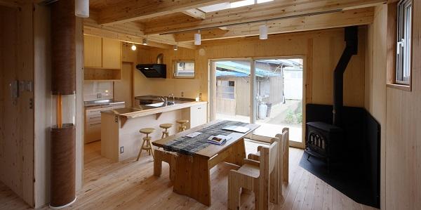 舟越工務店の注文住宅「木の温もりを感じられる家」