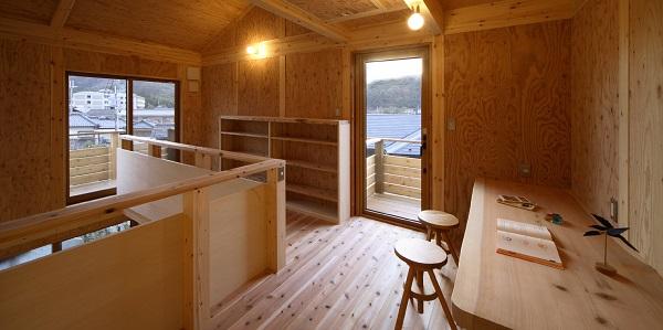 舟越工務店の注文住宅「子どもたちの勉強もはかどる部屋に」