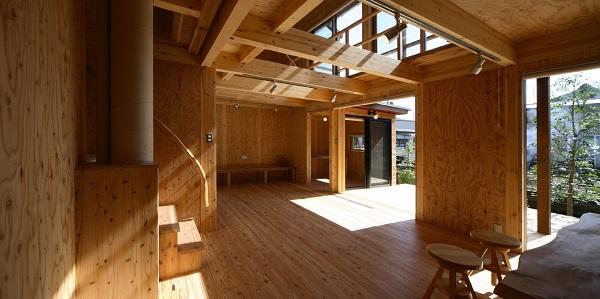 舟越工務店の注文住宅「2階を開放的にして空が見られる家」