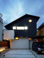 外観デザインがおしゃれな注文住宅in京都1
