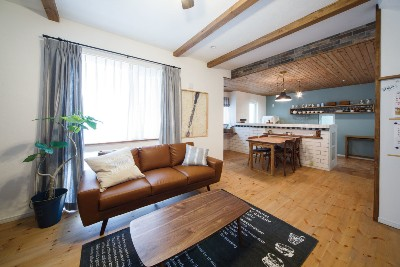 アイリーフラボの注文住宅「カフェみたいなおしゃれで素敵なお家」