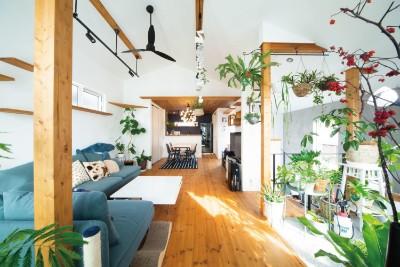 アイリーフラボの注文住宅「大切なペットも快適に暮らせることを考え設計」