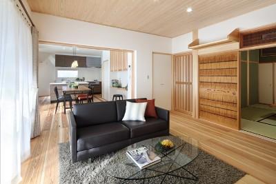 イムラの注文住宅「和風で広々とした京都の住宅」