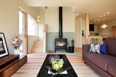 イムラの注文住宅「来客時と生活動線を玄関から分けた設計」