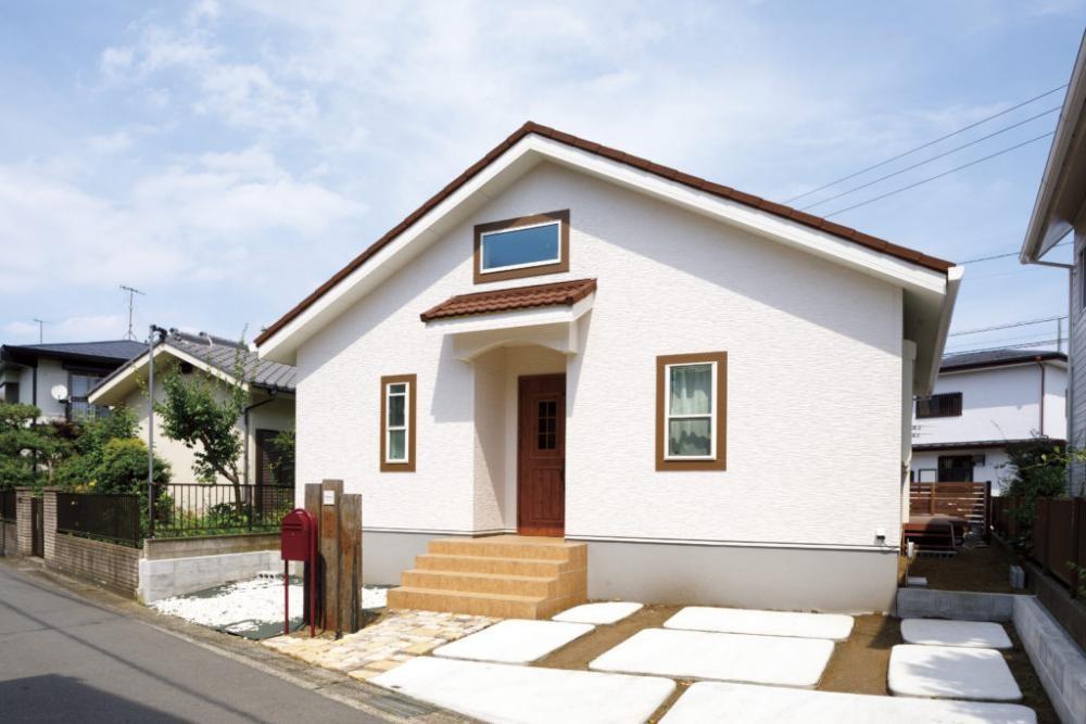 外観デザインがおしゃれな注文住宅in京都2