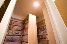 5,000冊以上収納できる書庫のある家