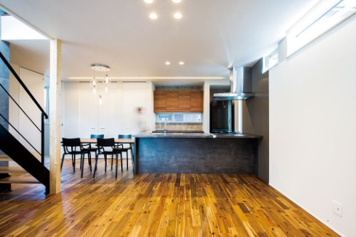 ハウス不動産の注文住宅「便利に住める高機能設計の住宅」