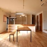おしゃれなリビングデザインの注文住宅in京都5