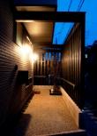 バルコニー・デッキ・オープンスペースのデザインが素敵な京都の注文住宅3