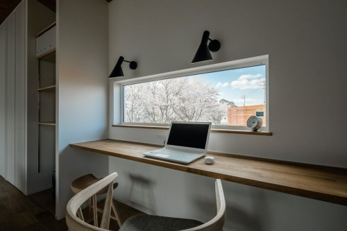 ルポハウス一級建築士事務所の注文住宅「桜とともに四季の変化を感じられる素敵なお家」