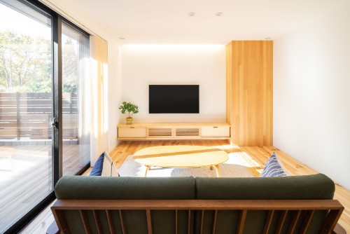 ルポハウス一級建築士事務所の注文住宅「無垢材を生かし和に囲まれた住宅でリラックス」