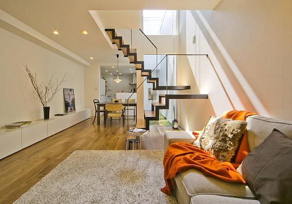 サンキ建設の注文住宅「設計の工夫で採光性を高めた家」