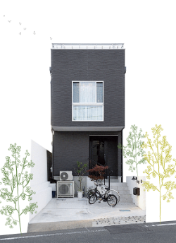 泉北ホームの注文住宅「スタイリッシュな都市型タイプ」