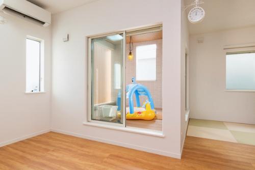 泉北ホームの注文住宅「プライバシーが守られるインナーバルコニー」