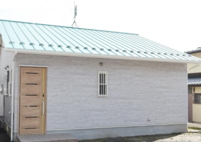 想伸建設の注文住宅「おしゃれで素朴なデザインが可愛いお家」