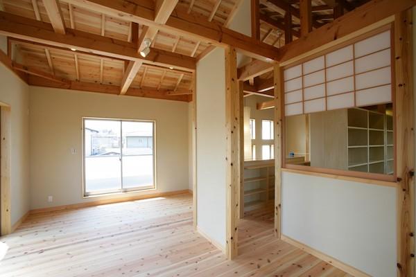 京都の注文住宅会社「ゆずデザイン」の施工事例1